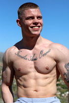 Brock Perry at StraightPornStuds.com