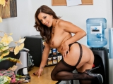 Francesca Le and Bill Bailey at Naughty Office