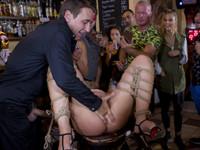 Sexy Serbian Public Disgrace