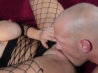 In Fishnets Extended Eva Notty