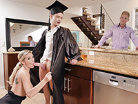 Cap and Gown Dick Down Family Strokes