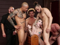 Holey Temptation Bound Gangbangs