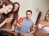 Group of Teens Playing Naked by the Pool Clip 2 at Spicy Roulette