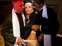 Ministry Anal Threesome Evil Angel