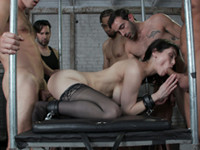 Stuffed Airtight at Bound Gangbangs