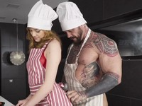Hot Cooking Scene 3 Private