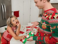 Christmas Cocksuck Only Teen Blowjobs