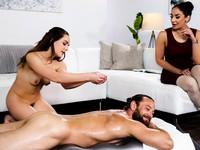 Practicing on Her Nuru Massage