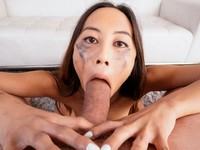 All in Blowjob Throated