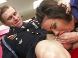 Men in Uniform Love Big Tits Scene 4 at Third Degree Movies