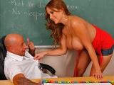Facility Supervisor Facilitator of Super Sex at Big Tits at School