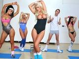 Cockrobics at Big Tits in Sports