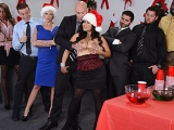 Office Christmas Party Big Tits at Work