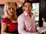 Charlee Chase and Johnny Castle at Seduced by a Cougar