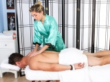 Lia and Josh at Massage Parlor