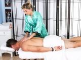 Lia and Josh at Massage Parlor