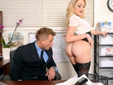 Mia and Bill at Naughty Office