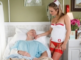 Nurse Leigh Cock Stalker at Doctor Adventures