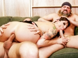 Lexi Bardot Threesome Cum Slam Burning Angel