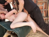 Stranded and Stuffed Hardcore Gangbang