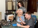 Tony with Brianna and Shae Money Talks