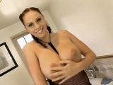 Busty Porn Star Boob Tease Pornstar House