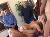 Horny Wife Threesome Knobbing New Cocks for My Wife