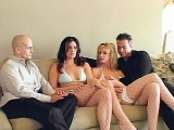 Cock Loving Porn Stars Banged Group Sex Frenzy