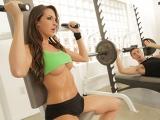 Kortneys Slutty Circuit Training Big Tits in Sports