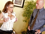 big dicks big tits titty fuck Big Tits at Work