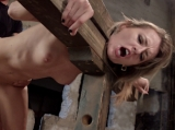 First Time Fucked in Bondage Dungeon Sex