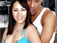 Tina and Justin Asian Chicks Like Black Dicks