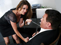 Raquel and Dick My MILF Boss