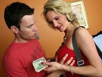 Zoe and Tim Escort Trick