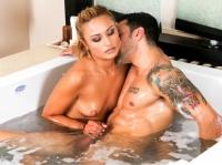 Marco with Natalia Nuru Massage