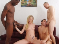 Cuckold Gang Bang White Ghetto