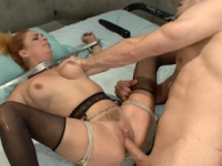 Ass Fucked in Bondage Sex and Submission