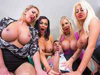 Office 4Play UK Edition Big Tits at Work