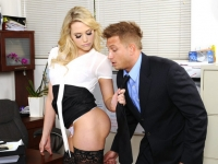 Mia Malkova and Bill Naughty Office