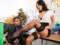 Asa Akira and Rocco Naughty Office