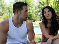 Asa Akira and Johnny My Dads Hot Girlfriend