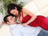 Veronica Avluv and Daniel Seduced by a Cougar