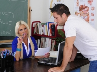 Nikita Von James and Johnny My First Sex Teacher