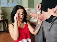 Madelyn Monroe and Billy Naughty Bookworms