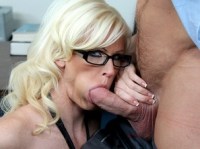 Kaylee Brookshire and Johnny Naughty Office