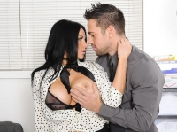 Audrey Bitoni and Johnny Naughty Office
