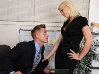 Anikka Albrite and Bill Naughty Office