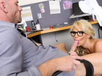 Phoenix Marie and Johnny Naughty Office