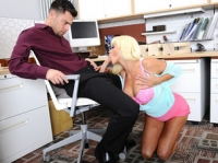 Nikita Von James and Seth Naughty Office