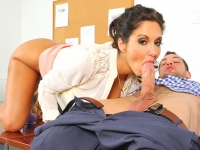 Ava Addams and Johnny Naughty Office